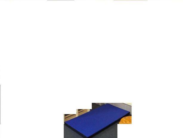 WEPLAY materac do ćwiczeń, rehabilitacyjny 120 x 60 x 5 na rzepy