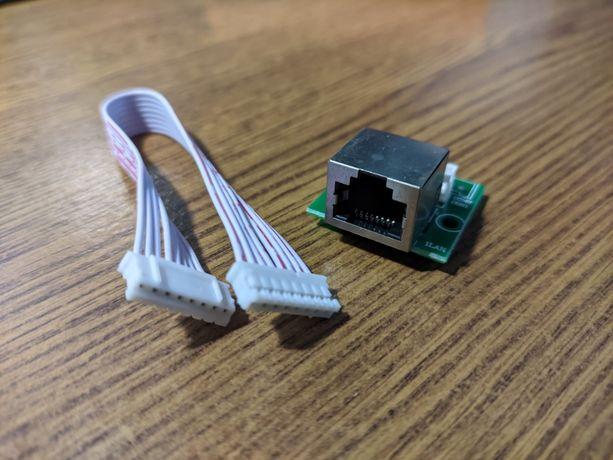 Интернет модуль, Ethernet + шлейф