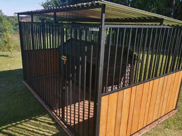 Kojec dla psa Boks Klatka buda 3x3,5 m