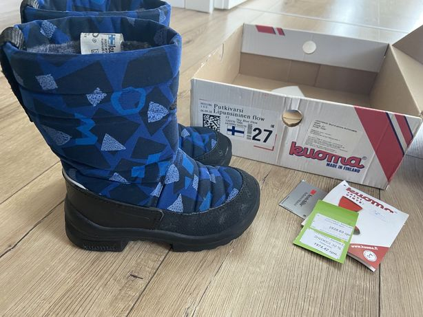 Kuoma 27 розмір зимові чоботи зимние сапоги