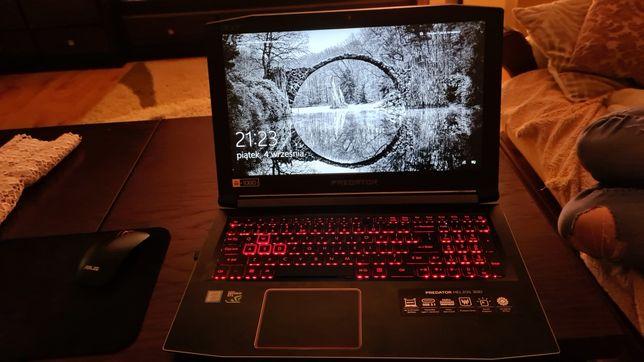 Acer Predator Helios 300 procesor i5 gtx1050ti 8gb Ram dysk ssd