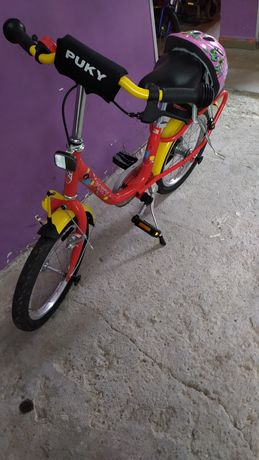 Rower Puky 16' + kask / b.ładny!