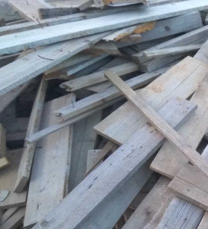 odpady drewniane z budowy, palety, drzewo na opał