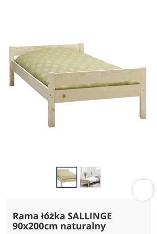 Rama łóżka-opis