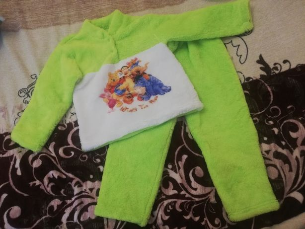 Пижама махровая 116