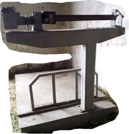 Весы товарные механические