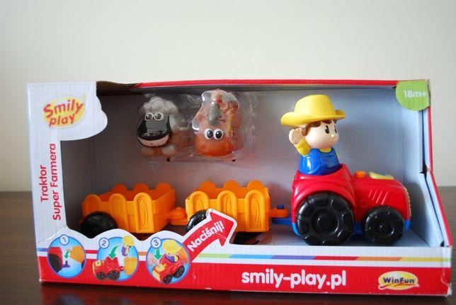 Traktor Super Farma - Smily Play.