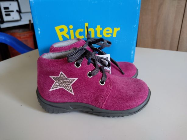 Półbuty Richter Shoes r.22 Trzewiki/Geox Primigi Ecco Emel