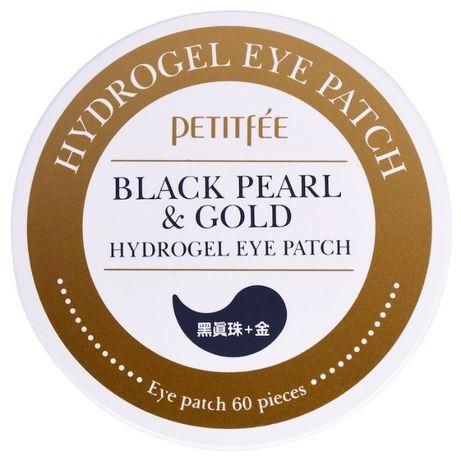 патчи Petitfee черный жемчуг и гидрогель
