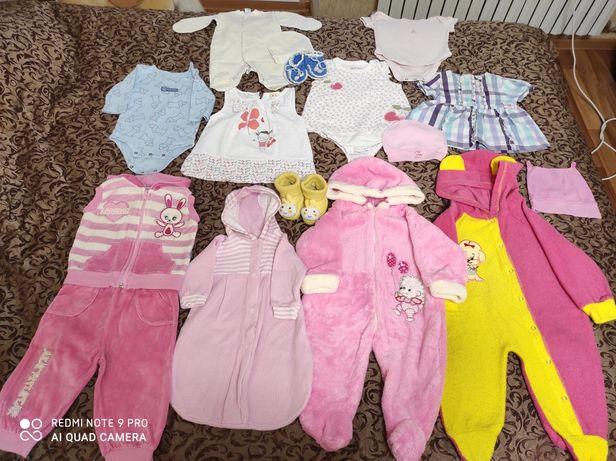 Продам одежду для девочки 0 -1 года