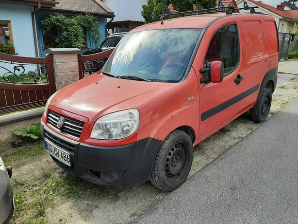 Fiat doblo 1.3 jtd diesel otwierany daszek sprowadzony