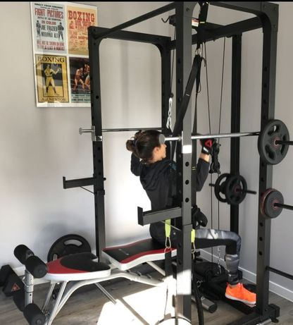 Rack Adidas - Home Rig - Jaula de treino - Reservada