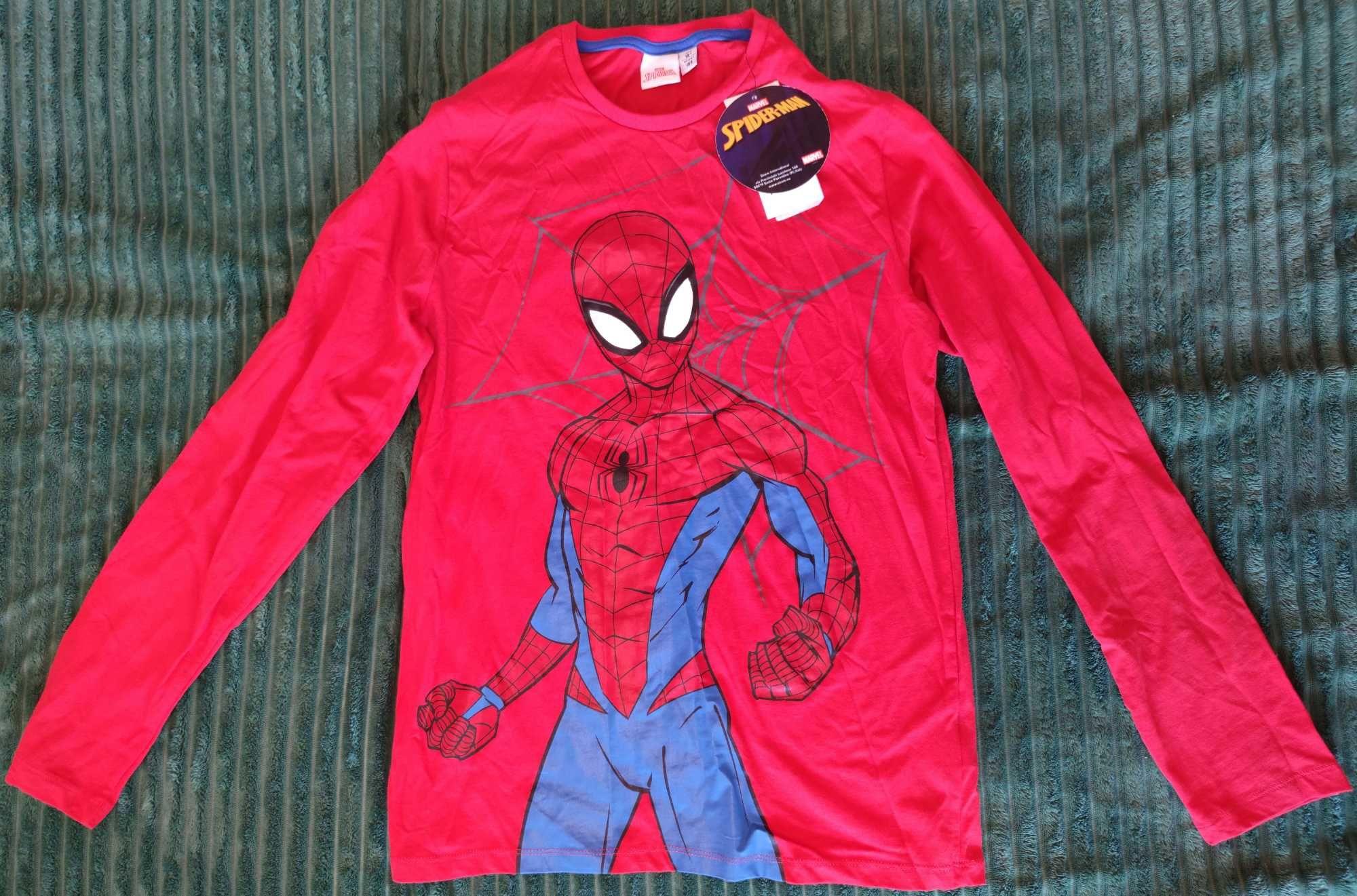 Кофта Лонгслив Гольф MARVEL Spider-Man Марвел Человек-паук 14+р.