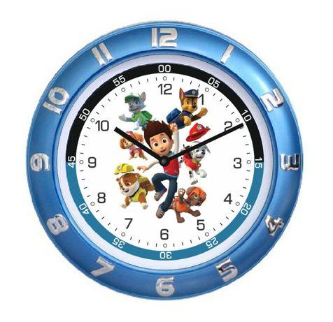 Часы настенные Пони детские 28см Пеппа, Щенячий патруль