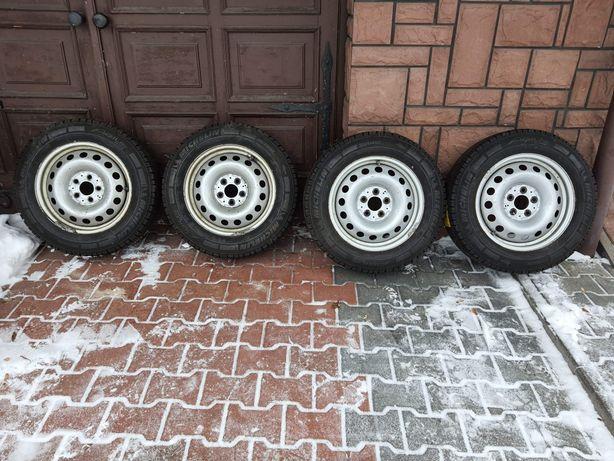 Koła 5x112 z oponami Michelin agilis 205/65/16c