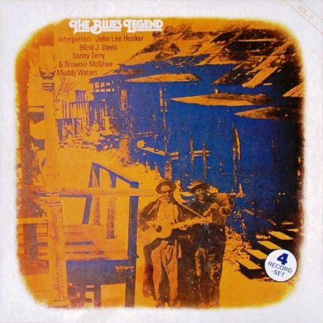 The Blues Legend 3 caixas X 4 LPs em muito bom estado = 12 LPs vinil