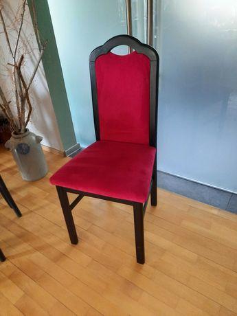 Krzesła 4 sztuki. Kolor burgund. Stan dobry+.