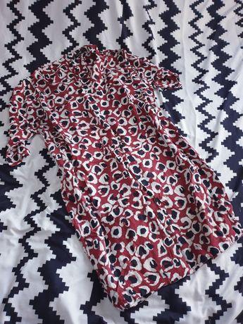 Sukienka zip panterka S M