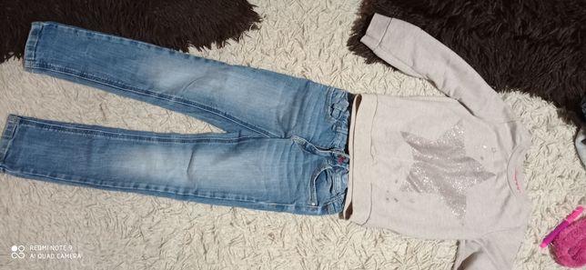 Продам джинси,кофту ,туніку на 5,6 років