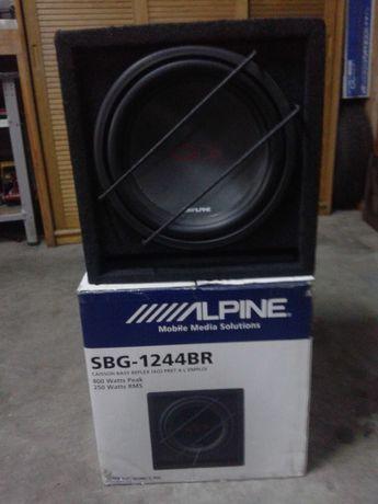 Vendo Conjunto de Som Auto Alpine! Subwoofer G+Amplificador V+Rádio