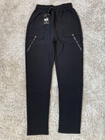 Spodnie ocieplane czarne rozmiar 36 38
