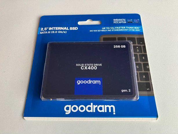"""Dysk SSD GOODRAM CX400 GEN.2 256GB SATA III 2,5"""" 7mm nowy gw 2l."""