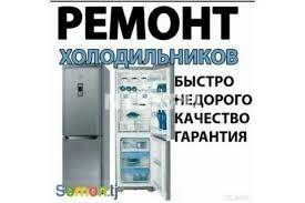 Профисиональный ремонт холодильников на дому