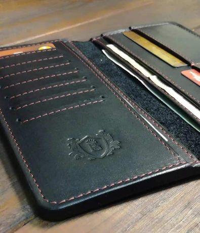 кошелёк портмоне мужской натуральная кожа ручная работа