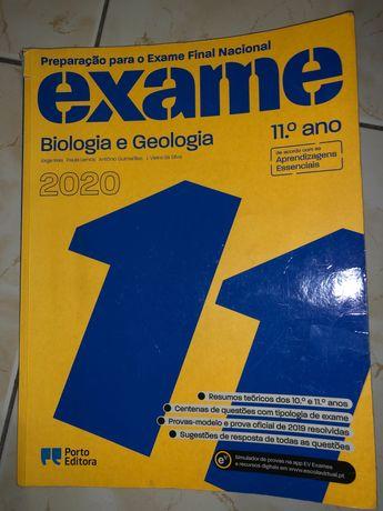 Livro de preparação para exame de Biologia