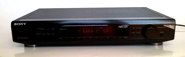 Sony tuner radio z RDS duża czarna wieża