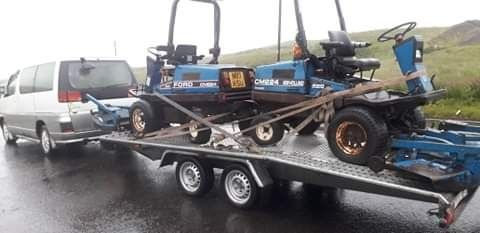 Газонокосилка 4WD automatik Ford CM224 трактор