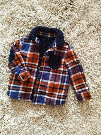 Рубашка теплая 12-18