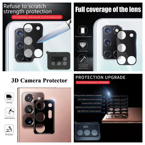Protecção Câmara 3D P/ Samsung A51 / A52 /  A71 / A72 - Nova - 24h
