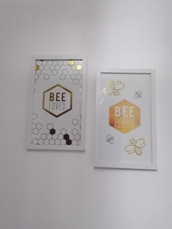 Obrazy dekoracyjne motyw pszczół