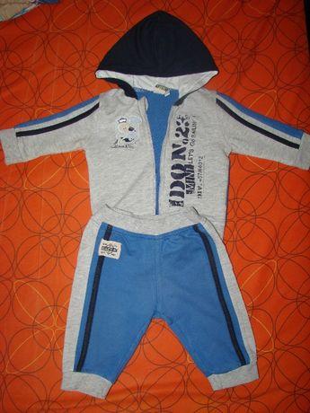 Спортивный костюм на маленького модника Dodipetto Италия 6-9 мес