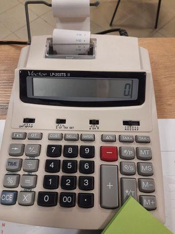Kalkulator Vector LP-203TS II z drukarką