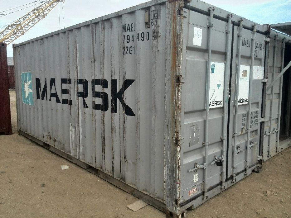 Контейнеры морские 20 футов (длина 6м шир. 2.44м). Бесплатная погрузка Одесса - изображение 1
