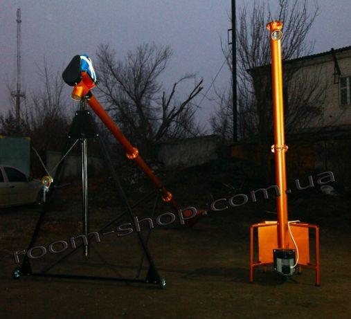 Вертикальный шнековый транспортер, погрузчик, конвейер, диаметр 133 мм