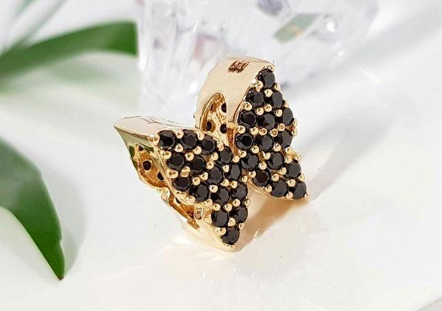 Złote koraliki charmsy różne rodzaje próba 585