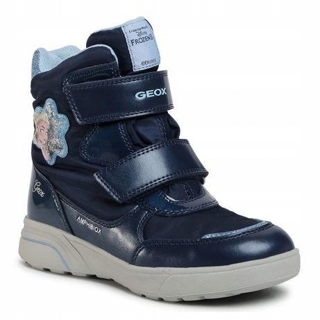 Сапоги ботинки Geox Frozen на девочку размер 35