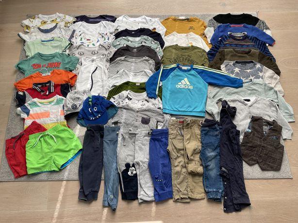 Zestaw ubrań dla chłopca rozmiar 86 paka H&M
