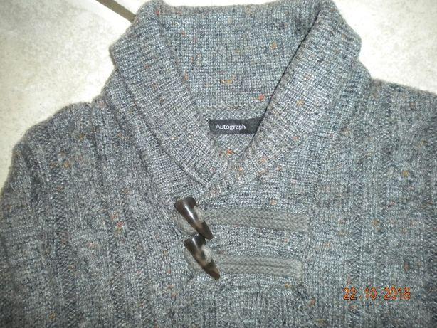 Sweter, sweterek M&S, r.128, na 7-8 lat.