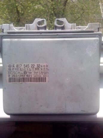 Блок управления двигателем W210, 95-2003год E320 BOSCH A 017 545 22 32