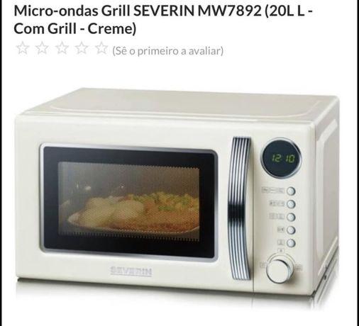 Micro-ondas Grill SEVERIN - Novo (nunca usado)