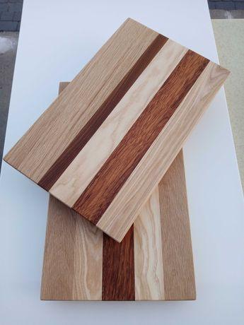 Deska do krojenia z litego drewna egzotyk