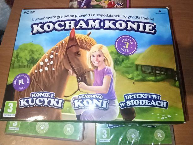 Kocham konie zestaw 3 gier