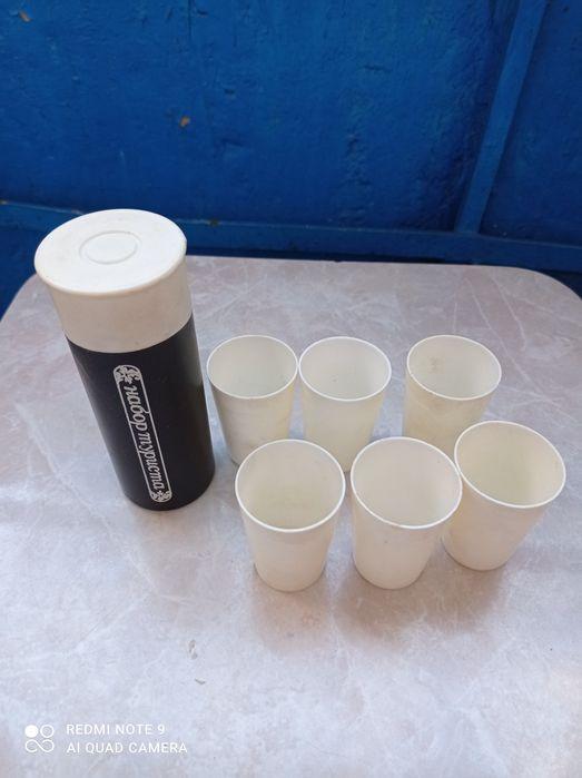 Набор туриста ( Патрон ) 6 стаканів. Торг. Львов - изображение 1