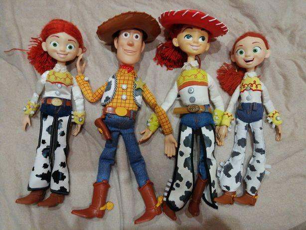 Вуди и Джесси история игрушек