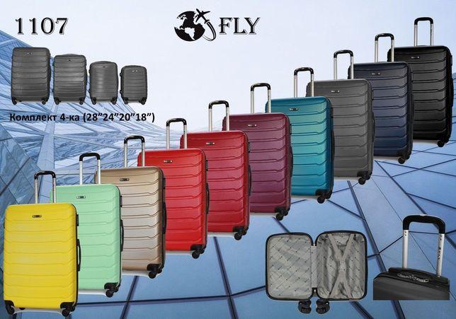 FLY 1107 Польща валізи чемоданы сумки колесах