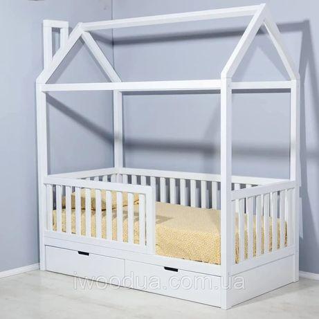 Кровать домик 90/190 см с шухлядами
